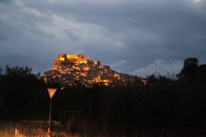 ucsd_chei_projects_castello_svevo_at_night